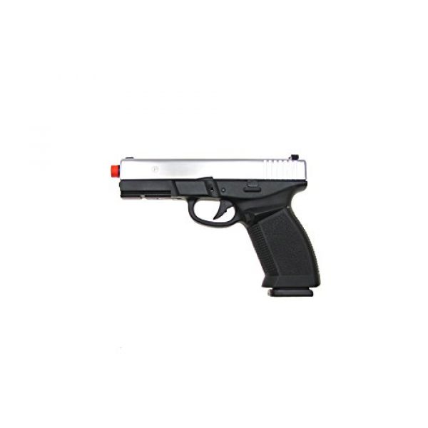 HFC Airsoft Pistol 1 HFC model-dark hawk full metal two-tone w/gun case(Airsoft Gun)