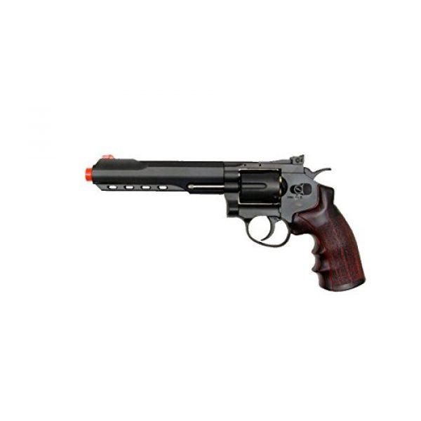 WG Airsoft Pistol 1 400 fps wg full metal m702 magnum high-powered co2 semi-automatic revolver airsoft pistol(Airsoft Gun)