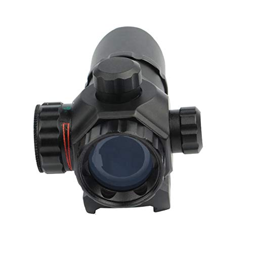 UELEGANS Rifle Scope 4 UELEGANS Tactical red dot Sight Scope 1X22 Adjustable Reflex Red/Green dot Holographic Sight for 20mm Rail