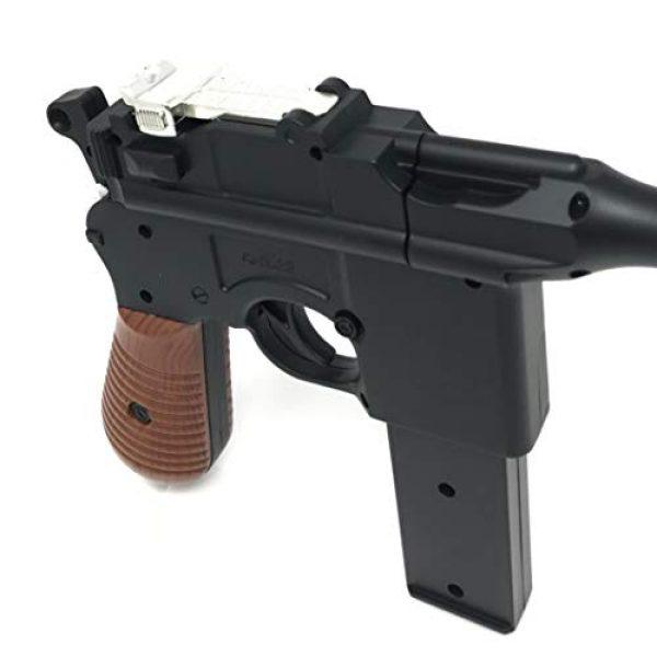 M32 Airsoft Pistol 2 WW2 New Airsoft Toy Gun German Mauser c69 Broomhandle with 2 Magazines Steampunk DIY