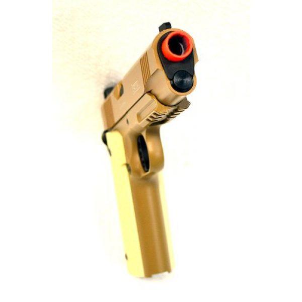 KWA Airsoft Pistol 5 KWA airsoft m1911 ptp mkii gas blow back pistol ns2 desert(Airsoft Gun)