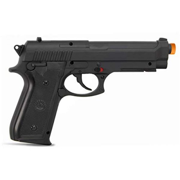Taurus Airsoft Pistol 2 Taurus PT92 CO2 Airsoft Pistol with Hop-Up, 377 FPS, Black, 1.9 pounds (210308)
