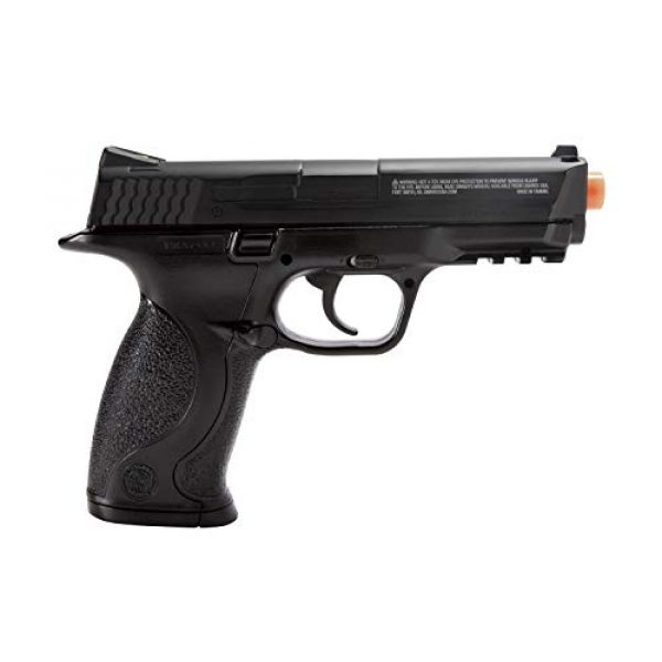 Elite Force Airsoft Pistol 4 Elite Force Smith & Wesson M&P 40 6mm BB Pistol Airsoft Gun, Standard Action, Black