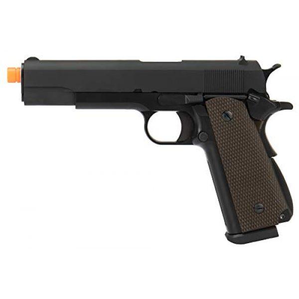 Lancer Tactical Airsoft Pistol 1 Lancer Tactical WE 1911 High Capacity Full Metal Airsoft Gas Blowback Pistol Black 330 FPS