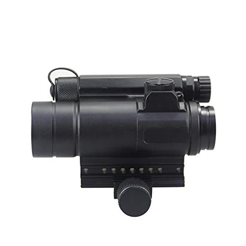 DJym Rifle Scope 4 DJym M4 Non-Magnification Red Film, Red Dot Sight, High Shockproof Waterproof Rifle Scope