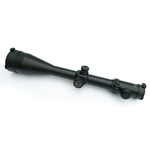 SECOZOOM Rifle Scope 1 SECOZOOM Optics ED Lens Sharp Clear View 4-50X75 Mil-dot Glass-etched Matte SF ED Glass FMC Long Range Riflescope