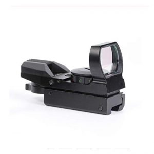 Without Rifle Scope 1 Toy Gun Sight Red dot Sight Magnification Hunting Mirror 20mm Optical Holographic red Green dot Reflection 4 Sight Scope Sight Sight Quality (Color : 11mm)
