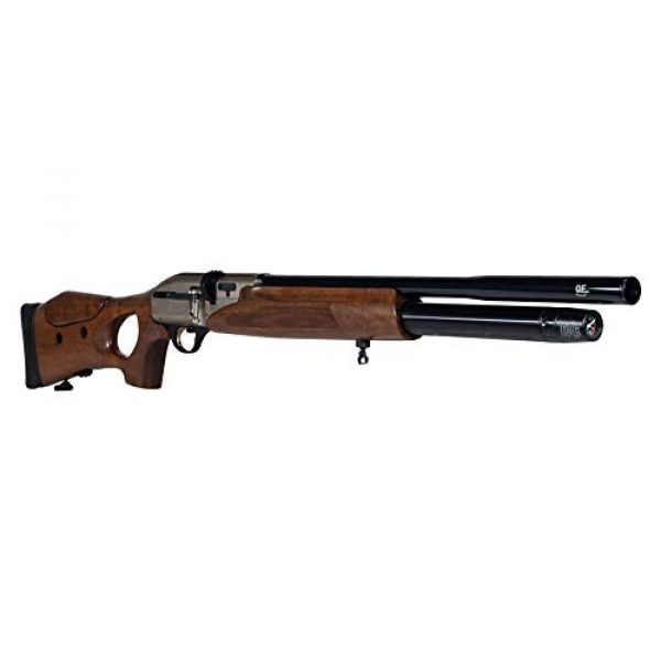 Wearable4U Air Rifle 4 Hatsan Galatian Walnut QE Air Rifle with Included Wearable4U 100x Paper Targets and Lead Pellets Bundle