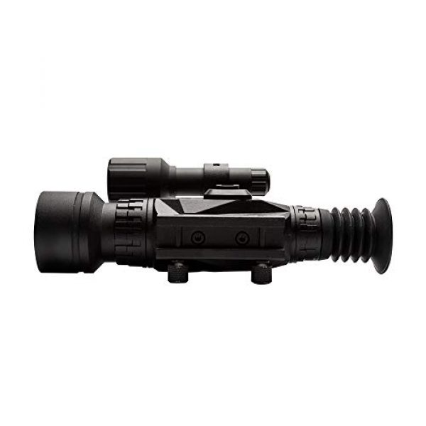 Sightmark Rifle Scope 4 Sightmark Wraith HD 4-32x50 Digital Riflescope Bundle with 4 AA Batteries, Battery Case and Lumintrail Cleaning Cloth