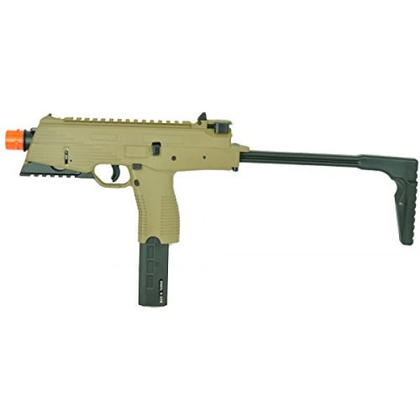 KWA Airsoft Pistol 1 KWA kmp9r ns2 gas blow back airsoft gun dark earth rail version(Airsoft Gun)