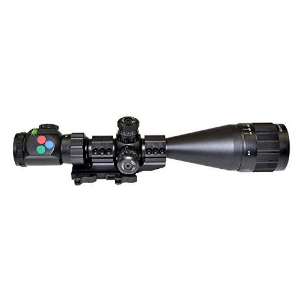 Presma Rifle Scope 1 PRESMA 4-16X50AOL Precision Rifle Scope with Illuminated Red, Green, Blue RXR Reticle, AO Adjustment