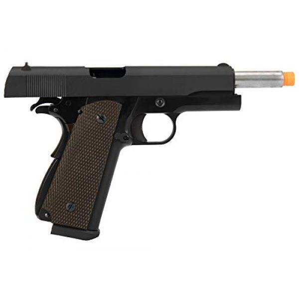 Lancer Tactical Airsoft Pistol 6 Lancer Tactical WE 1911 High Capacity Full Metal Airsoft Gas Blowback Pistol Black 330 FPS