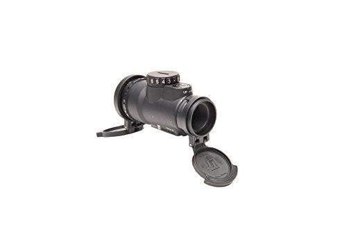 Trijicon Rifle Scope 3 Trijicon MRO-C-2200017 1x25mm Patrol Riflescope with Miniature Rifle Optic (Mro), 2.0 MOA Adjustable Red Dot Reticle (Without Mount), Black