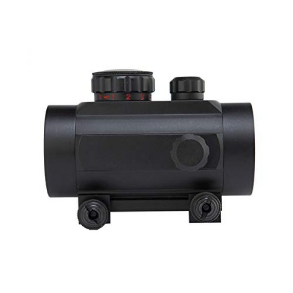 DJym Rifle Scope 2 DJym Tactical 1x40mm Red Dot Sight for Rifle Carbine Shootgun Gun Hunting Outdoor Sports