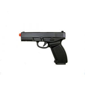 HFC Airsoft Pistol 1 HFC model-dark hawk full metal black w/gun case(Airsoft Gun)