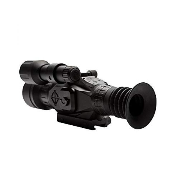 Sightmark Rifle Scope 2 Sightmark Wraith HD 4-32x50 Digital Riflescope Bundle with 4 AA Batteries, Battery Case and Lumintrail Cleaning Cloth