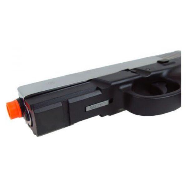 HFC Airsoft Pistol 5 HFC dark hawk full metal gun gas powered blowback airsoft pistol with case(Airsoft Gun)