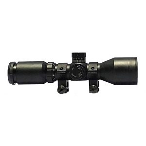 Osprey Global Rifle Scope 1 Osprey Global CP3-9x42MDG Compact Illuminated MIL dot Glass Reticle Riflescope, 3-9x 42mm, Matte Black (3-9x 42mm)