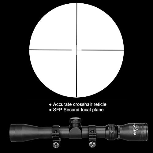 SVBONY Rifle Scope 6 SVBONY SV176 Rifle Scopes,3-9x32mm Sight Scope,Dioptre Adjustable IPX6 Waterproof Shockproof with 20/22mm Rangefinder Scope for Outdoor Sports Activities