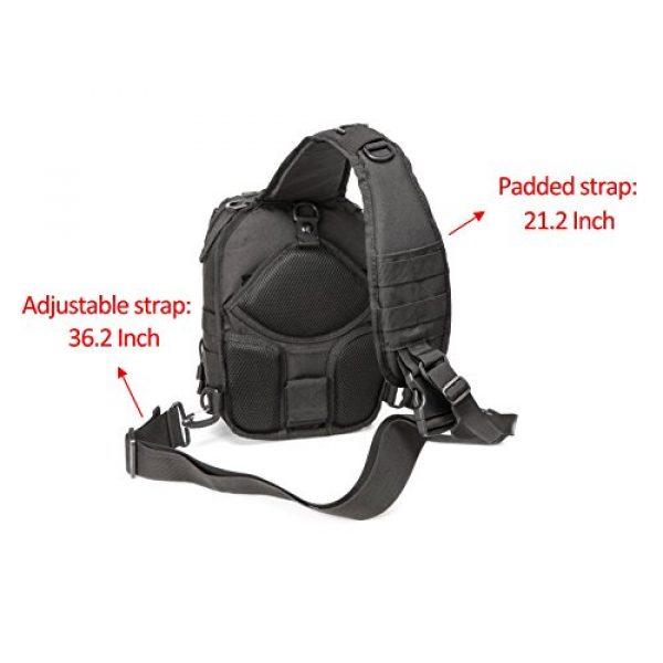 CRAZY ANTS Tactical Backpack 3 Crazy Ants Tactical Sling Bag Rover Molle Pack Shoulder Sling Backpack for Man