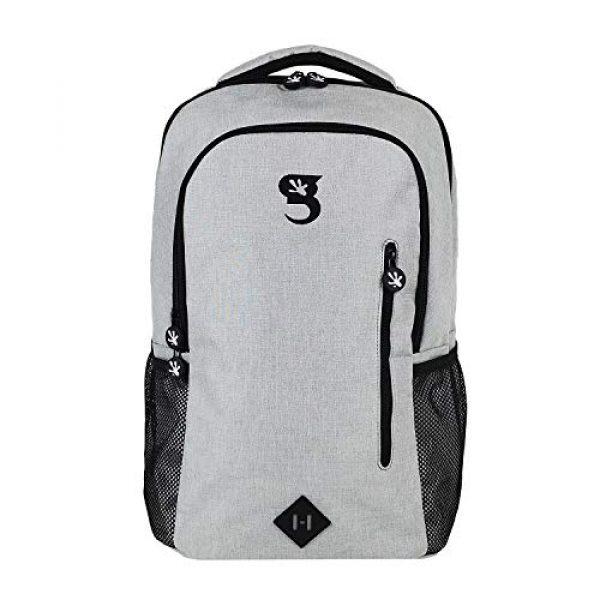 """geckobrands Tactical Backpack 1 geckobrands Ambition Backpack """" School/Work Backpack, Light Grey"""