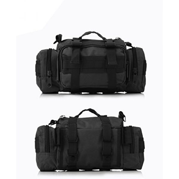 DOUN Tactical Backpack 6 DOUN Tactical Waist Bag Military Versatile Tactical Deployment Bag Hand Carry Bag Molle Waist Pack Camera Bags