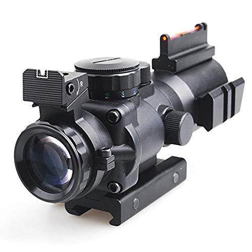 Sniper Rifle Scope 3 Sniper 4x32 Rifle Scope Red/Green Illuminated Reticle Scope