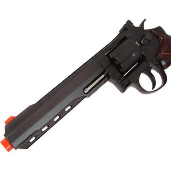 WG Airsoft Pistol 2 400 fps wg full metal m702 magnum high-powered co2 semi-automatic revolver airsoft pistol(Airsoft Gun)