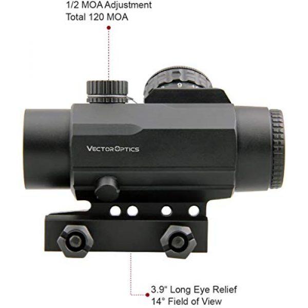 Vector Optics Rifle Scope 3 Vector Optics Calypos 1x30mm, Red Illuminated BDC Reticle, Second Focal Plane (SFP), 1/2 MOA Compact Tactical Prism Riflescope