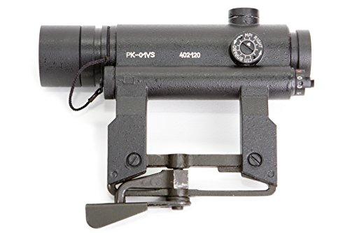 BelOMO Rifle Scope 3 BelOMO PK-01 VS. Red Dot Sight. Rifle Scope Collimator for Saiga. Co-Witness. 1 MOA. Original Combloc
