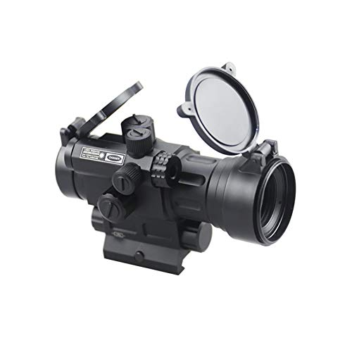 DJym Rifle Scope 3 DJym Advanced Button Red Dot Sight, 1X Waterproof and Anti-Fog Rifle Scope