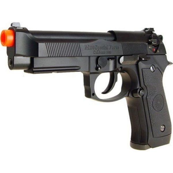 TSD Airsoft Pistol 2 hfc m190 abs gas pistol rail/semi auto abs ver. - 0.240 caliber(Airsoft Gun)