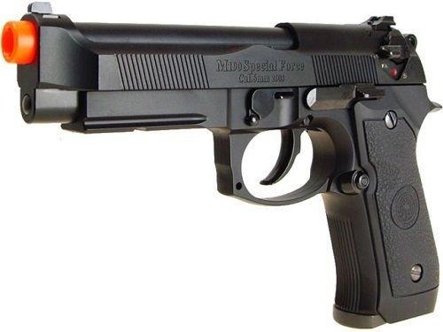 HFC  2 hfc m190 metal semi auto pistol rail ver airsoft gun(Airsoft Gun)