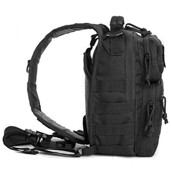 J.CARP Tactical Backpack 2 J.CARP Tactical Sling Bag Pack Military Rover Shoulder Sling Backpack Small