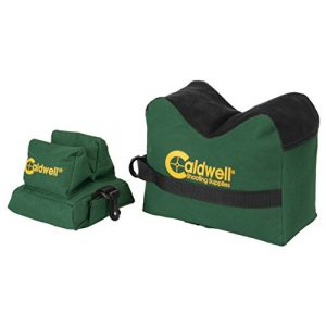 Caldwell Tactical Shooting Rifle Stock Rest Bag 1 Caldwell DeadShot Boxed Combo Front and Rear Bag with Durable Construction and Water Resistance for Outdoor, Range, Shooting and Hunting