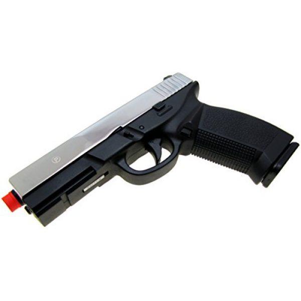HFC Airsoft Pistol 5 HFC model-dark hawk full metal two-tone w/gun case(Airsoft Gun)