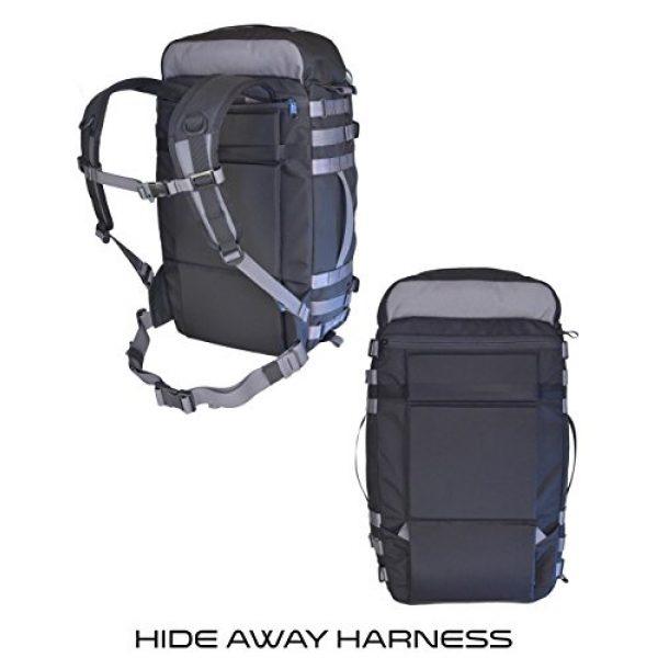 VITAL GEAR Tactical Backpack 7 VITAL GEAR Air Rover Modular Adventure Travel Backpack, Black, Medium/40mm