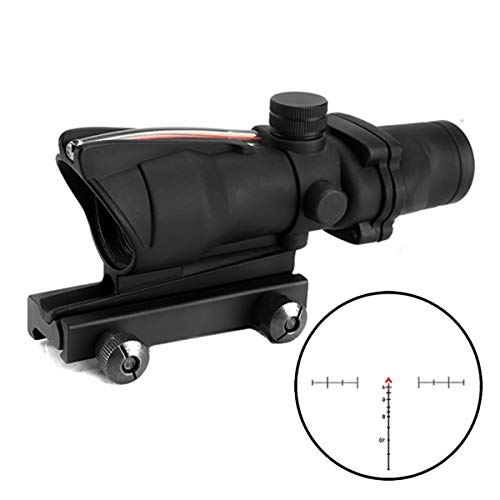 Armybase Rifle Scope 7 Armybase ACOG Rifle Scope 4x32 True Fiber Chevron Riflescope Optical Sights