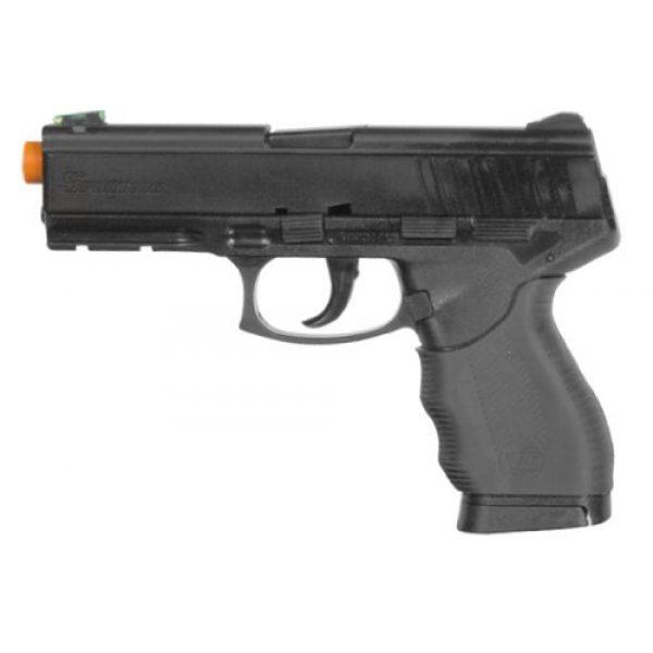 Fire Power Airsoft Pistol 1 Soft Air Firepower Interrogator Spring Powered Pistol, Black
