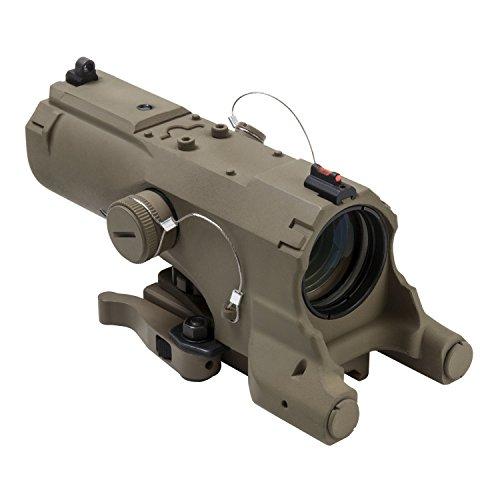VISM Rifle Scope 1 Vism Eco Mod3 4X Magnification 34mm Scope, Black