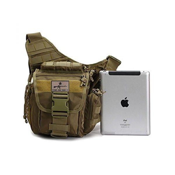Klau Tactical Backpack 6 Klau Outdoor Sport Military Women and Men's Multi-Functional Tactical Messenger Shoulder Bag