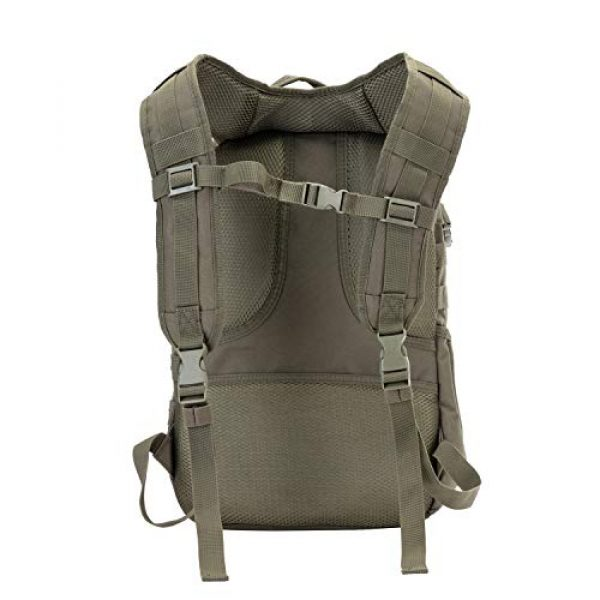 JINFIRE Tactical Backpack 4 JINFIRE Military Tactical Backpack Molle Bag Backpacks Assault Pack Army Rucksacks for Hiking, Camping, Trekking, 24.2L