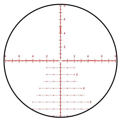 Tract Rifle Scope 5 TORIC UHD 4-20x50 30mm MRAD PRS Long Range Riflescope with Christmas Tree Style Reticle