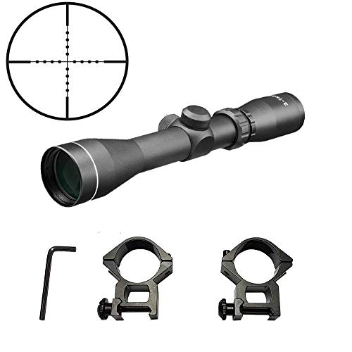 Persei Rifle Scope 6 Persei 2-7x42 Long Eye Relief Scope Rangefinder Reticle 30mm Tube Diameter Fits Mosin Nagant 1891/30 M39 with Mount Rings