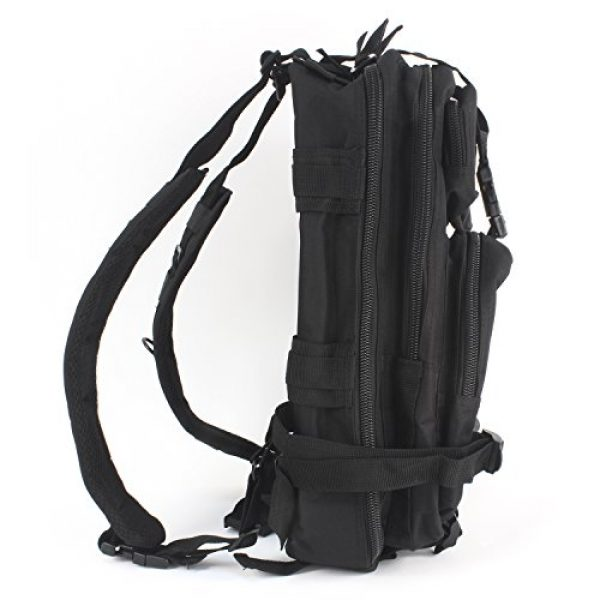 """MediTac Tactical Backpack 4 MediTac Tactical Assault Pack - First Aid Rucksack - 18"""" Military MOLLE Backpack"""