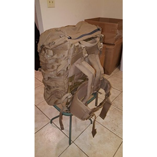 Eagle Tactical Backpack 5 Eagle FILBE USMC Main Pack Coyote Brown with Frame and Waist Belt