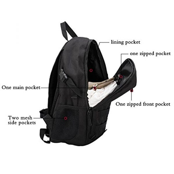Wowelife Tactical Backpack 4 Wowelife Mini Tactical Backpack 10L Small Military Day Pack School Bag for Hunting Camping Trekking Travel