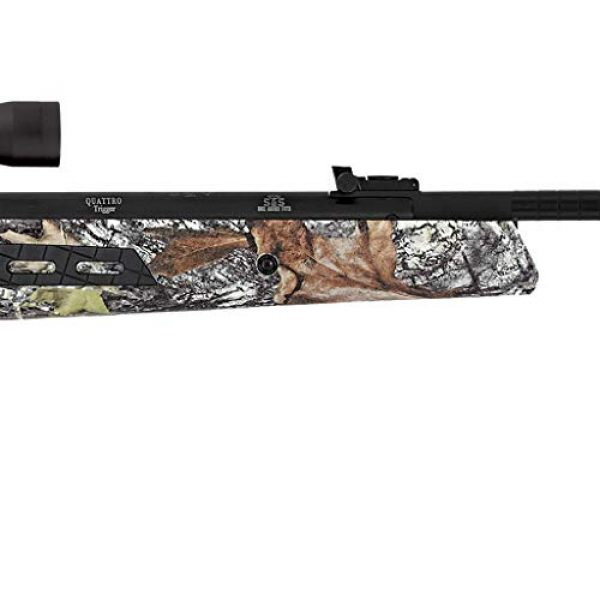 Wearable4U Air Rifle 5 Wearable4U Hatsan MOD 125 Sniper Vortex QE Quiet Energy .177 Cal Air Rifle, Camo with Included 100x Paper Targets and 500x .177cal Lead Pellets Bundle