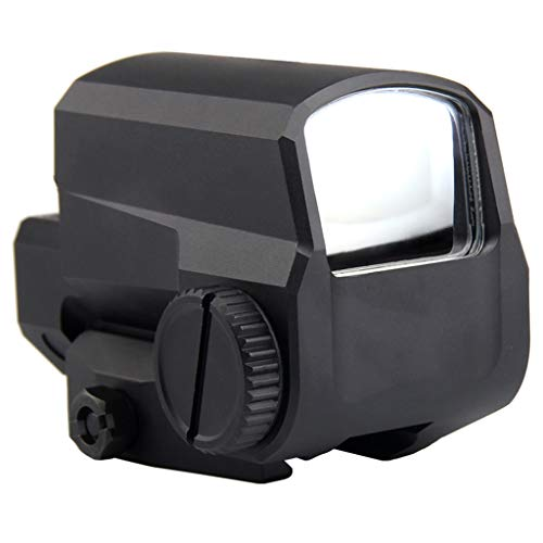 AJDGL Rifle Scope 7 AJDGL Tactical Red Dot Sight Rifle Scope- Hunting Holographic Reflex Sight with 20mm Rail Mount for Shooting