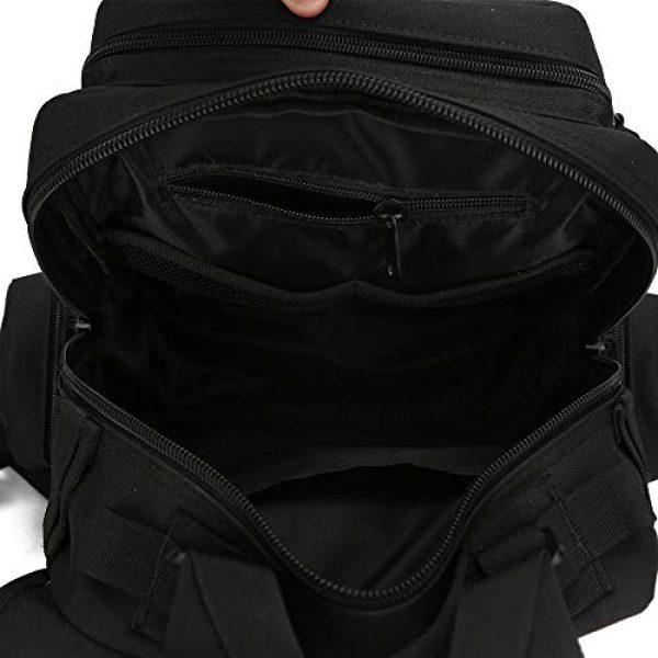 ABENAKI Tactical Backpack 6 ABENAKI Tactical Sling Bag Pack Military Sling Backpack Assault Range Bag